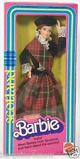 1980 SCOTTISH BARBIE DOLLS OF THE WORLD DOTW NRFB