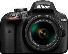 Nikon DSLR D3400 Camera w/ Kit Lens AF-P DX NIKKOR 18 - 55 mm f/3.5 - 5.6G VR