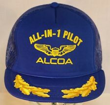 ALCOA All-In-1-Pilot Snapback Cap, Aluminum Company of America Hat