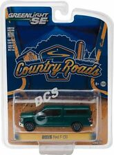 2015 FORD F-150 W/ CAMPER SHELL GREEN COUNTRY ROADS 15 1/64 GREENLIGHT 29850 D