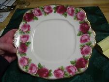 """Antique Royal Albert Bone China Old English Rose 10"""" Plate"""