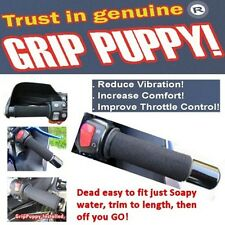 Grip Puppy motorcycle & scooter handlebar grip covers improved comfort