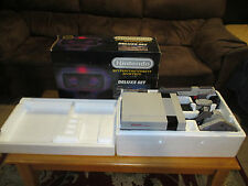 Nintendo NES Deluxe Set ROB Robot Boxed & Complete Tested & Working