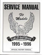1995-1996 Harley FLT & FLH Electra Tour Glide Repair Service Manual 99483-96A