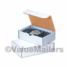 50 -15 1/8 x 11 1/8 x 3 White Shipping Mailer Literature Box Packing Boxes