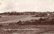 Golf Course Sea Road Cooden Beach Bexhill on Sea RP old pc used Sweetman