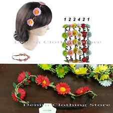 12pcs Boho Halo Flower Bridal Headband Hairband Crown Garland Wedding Party USA
