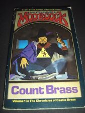 Count Brass By Michael Moorcock Oct 1976 1st Printing Paperback