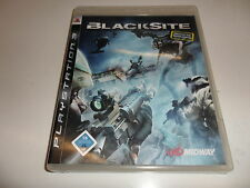 PlayStation 3  PS 3  Blacksite