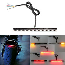 Motorcycle 33SMD Universal LED Light Strip Bar for Brake Tail Light Left /Right
