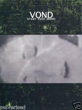 VOND Green Eyed Demon A5 DIGIPAK CD