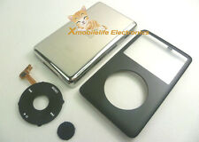 Black Faceplate Housing Case Clickwheel Button for iPod 6th Classic Thick 160GB