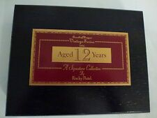 Cigar Box, Rocky Patel Wooden Box, Vintage Series 1990 Signature Collection
