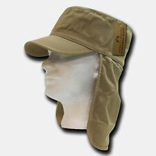 Khaki Foreign Legion Fishing Boating Sun Protector French Cap Caps Hat Hats L/XL