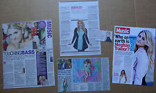 Meghan Trainor - clippings/cuttings/articles pack