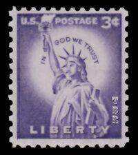 1035e (was 1035b) Statue of Liberty 3c Tagged Liberty Issue 1966 MNH - Buy Now