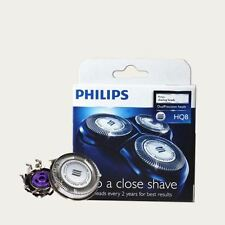 3 x Genuine Shaver Razor Placement Blades Heads for Philips HQ8 (Plain Pack)