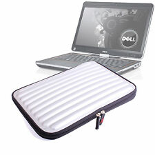 """Protective Silver Memory Foam Laptop Carry Bag/Case For Dell Latitude 13.3"""""""