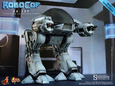 Hot Toys 1987 Robocop Classic OCP ED-209 1/6 Scale Figure with Sound In Stock