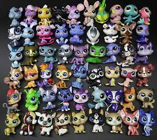 Random LOT 5 lps Littlest Pet Shop Dachshund Puppy DANE Husky DOG fish cat deer