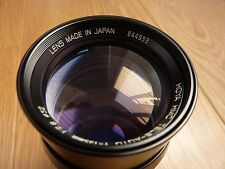 Hoya HMC Camera Lens Tele-Auto f = 135mm - 1:2.8 - 52 Inc Case No Len Cover