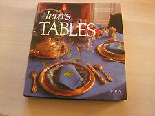 livre  de cuisine ancien   leurs tables
