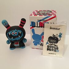 "Kidrobot 3"" Dunny 2008 French Series Superdeux Figure Very Rare"