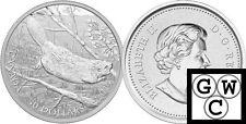 2014 5oz Proof $50 'Swimming Beaver' .9999 Fine Silver Coin *No Tax (13336)