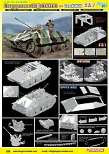 1/35 Dragon Bergepanzer 38(t) Hetzer mit 2cm FlaK 38 - Smart Kit (2 in 1) #6399