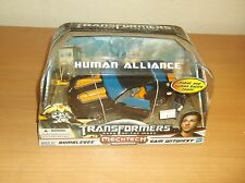 HASBRO: TRANSFORMERS: MECHTECH HUMAN ALLIANCE: BUMBLEBEE/SAM WITWICKY, 2010!!!