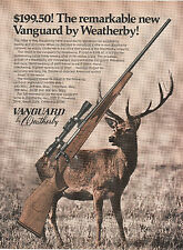 1971 ad 713a for the Weatherby Vanguard bolt action rifle