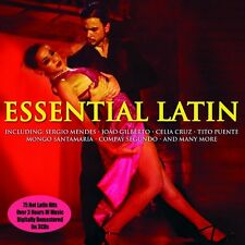 ESSENTIAL LATIN - 75 HOT LATIN HITS (NEW SEALED 3CD SET)