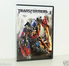 DVD VIDEO TRANSFORMERS 3 LA FACE CACHEE DE LA LUNE