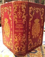 Durelli: CENNO STORICO DI FERDINANDO II RE DEL REGNO DELLE DUE SICILIE - 1859