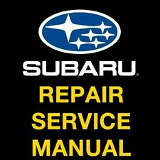SUBARU FORESTER 2000 2001 2002 2003 2004 OFFICIAL FACTORY SERVICE REPAIR MANUAL