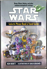 Star Wars Galactic Phrase Book and Travel Guide by Ben Burtt (2001, PB, Del Rey)