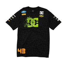 DC Shoes Ken Block Cracked Tshirt Mens Black Tee KB 43 NEW Size M