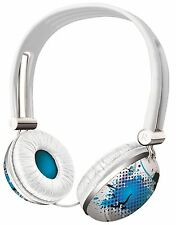 NEW TRUST 17558 URBAN REVOLT AUDIO PC & SKYPE HEADSET, EVENING COOL