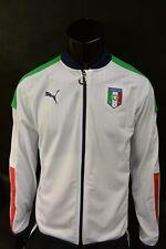 Puma ITALIA Euro 2016 Italy Football Track Training Soccer Sweatshirt SIZE S