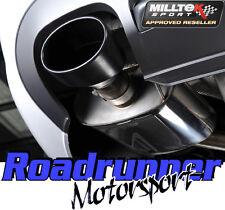 Milltek SSXAU262 Audi S4 B8 3.0 V6 Exhaust Cat Back Resonated 2 x Ovals & EC TUV