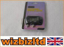 Vélomoteur et Scooter Mini LCD Contacteur noir gris toile de fond LCDCLOCK-BLK