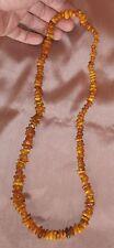 Superbe collier en ambre véritable