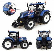 "Universal Hobbies New Holland T7.225 ""Union Jack"" Tractor, Scale 1:32  UH4901"