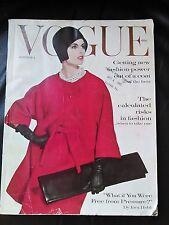 ***VINTAGE VOGUE MAGAZINE October 1st 1960 Irving Penn cover