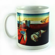 THE PERSISTENCE OF MEMORY SALVADOR DALI GIFT MUG CUP PRESENT CLOCKS PAINTING ART