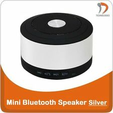 iPhone Android Enceinte Speaker Spreker Portable Bluetooth 3.0 Silver Jack 3.5mm