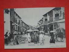 Haiphong Hải Phòng VIET NAM Vietnam IndoChine Rue Chinoise ANIMATED old postcard
