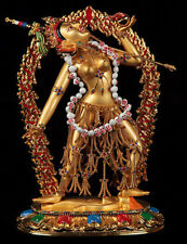 Vajayogini 24 Carat Gold Plated & Gem Statue COMBINED SHIPPING AVAILABLE