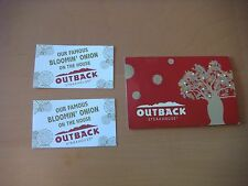 Set of 10 Outback Steakhouse FREE Bloomin Onion Certificates