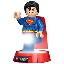 Officiel lego dc super heroes superman lampe nocturne led de torche-Lampe boxed logo